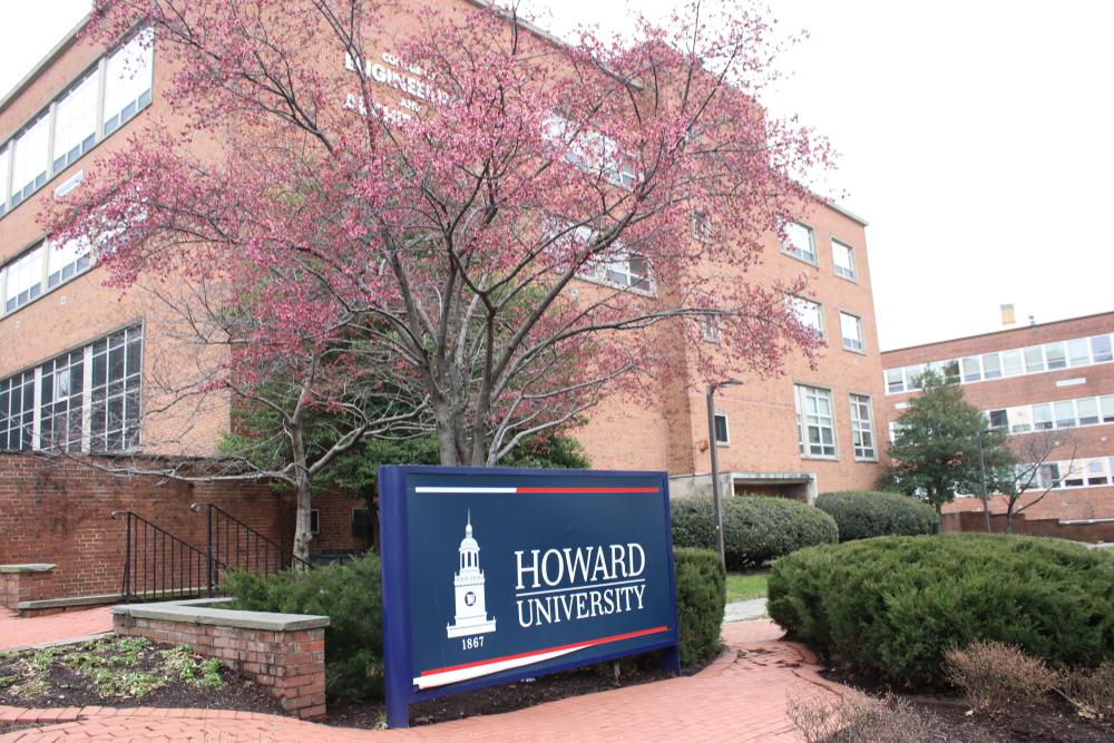 Campus of (HBCU) Howard University located in Washington, DC