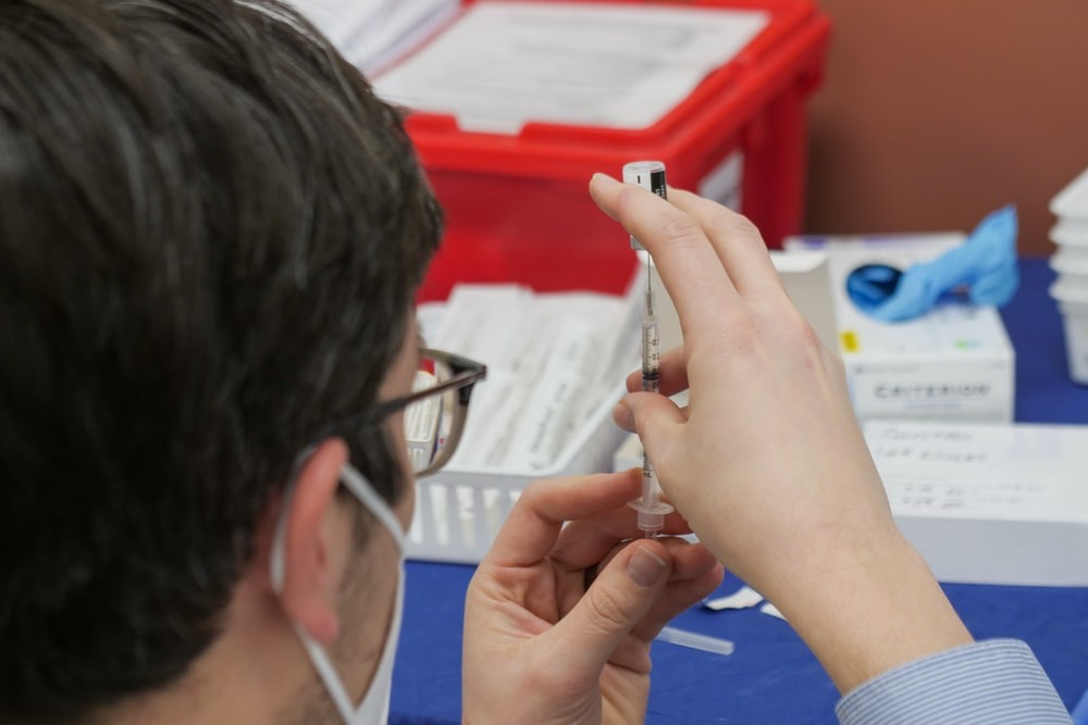 covid vaccine injection