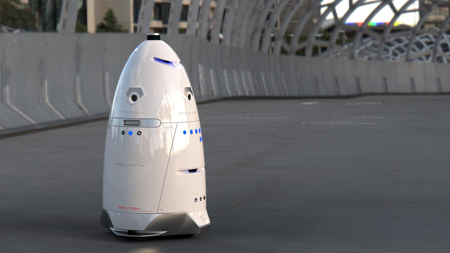 Knightscope's K5 Autonomous Data Machine