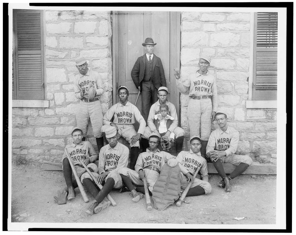 African American baseball players from Morris Brown College, circa 1899