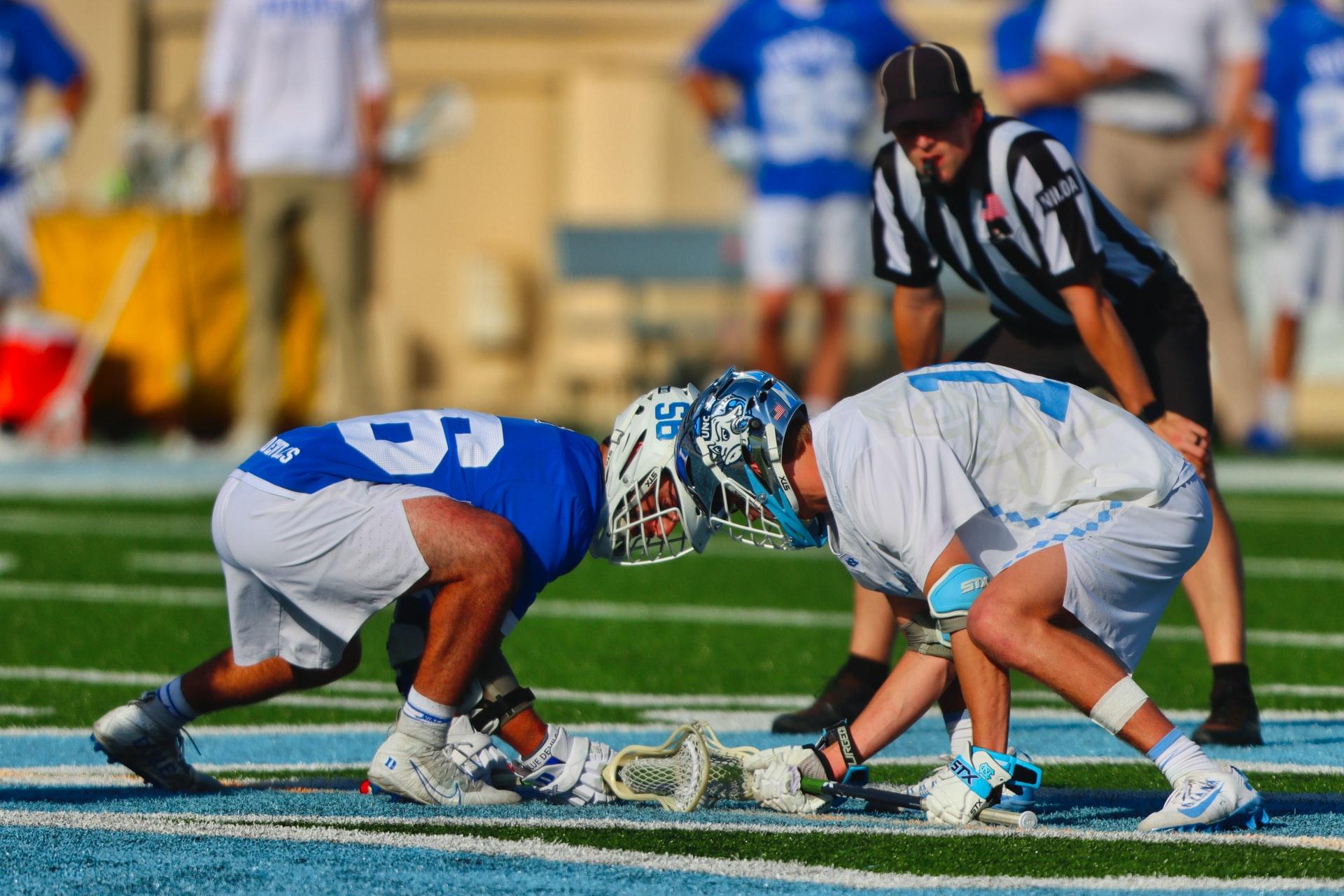 men's lacrosse game